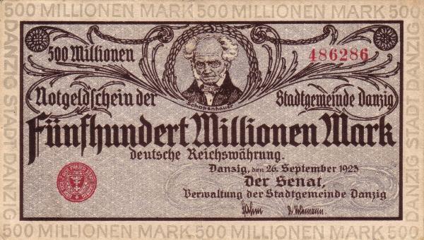 Otkup iz Danziga novčanica