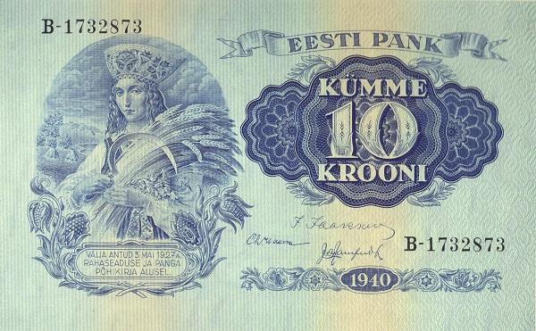 Otkup estonskih novčanica