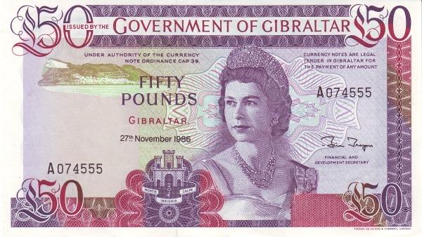 Otkup gibraltarskih novčanica