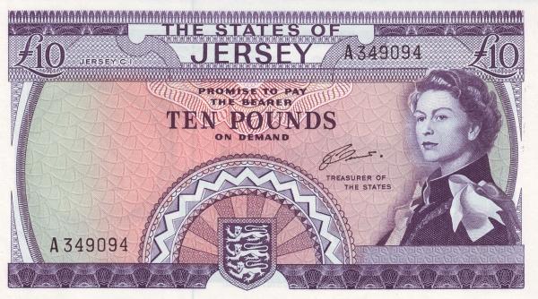 Otkup iz Jerseya novčanica