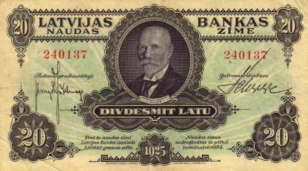 Otkup latvijskih novčanica