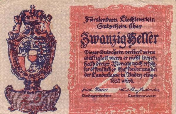 Otkup lihtenštajskih novčanica