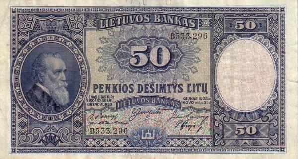 Otkup litavskih novčanica