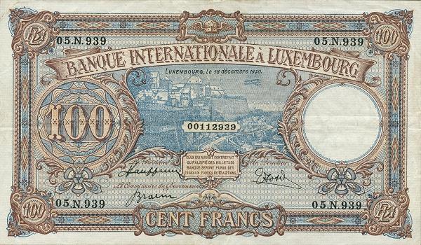 Otkup luksemburških novčanica