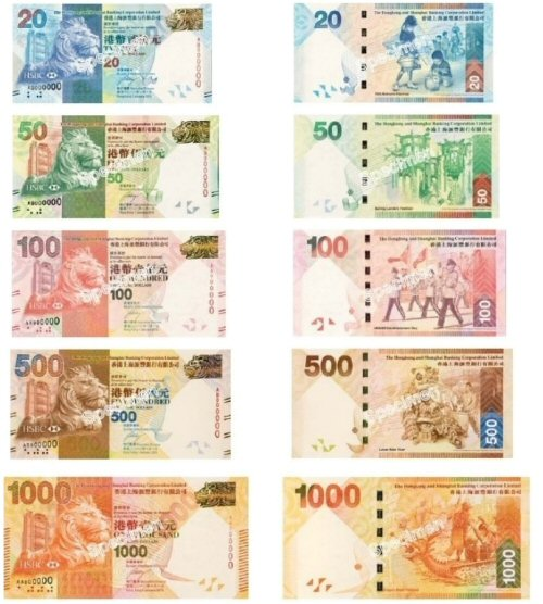 otkup zamjena hongkongških dolara