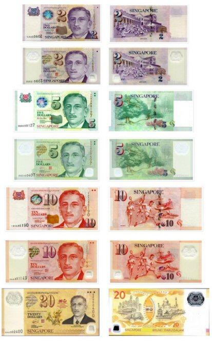 mijenjanje singapurskih dolara