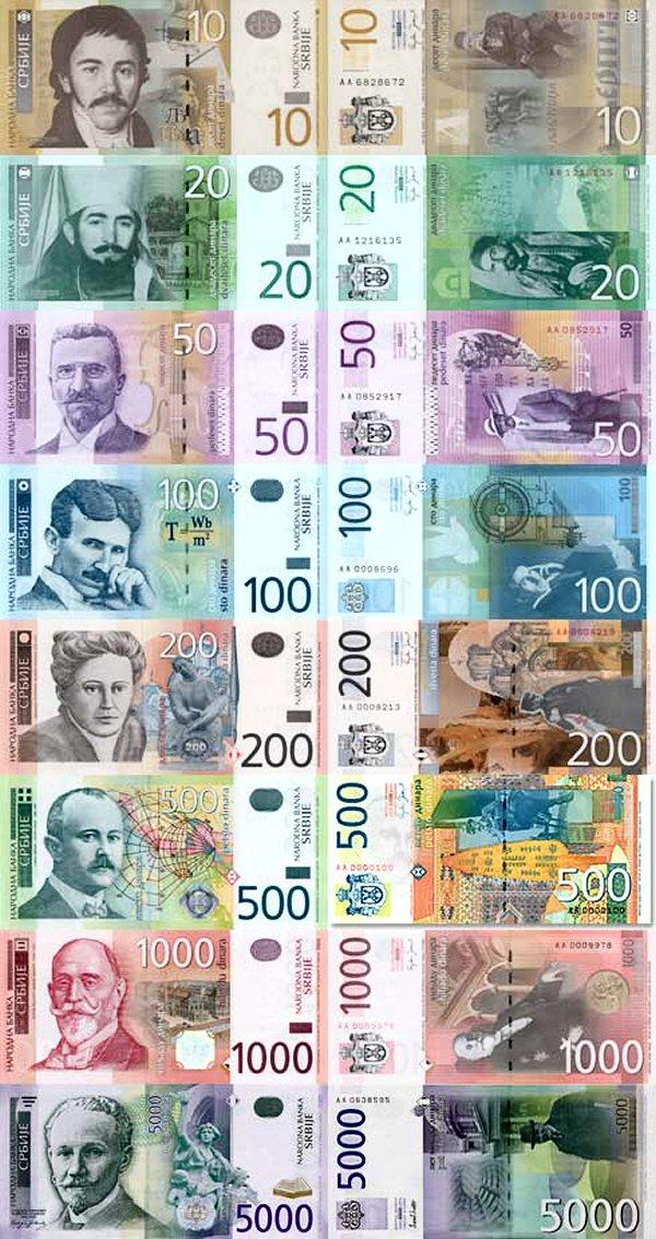 zamjena srpskih dinara 2