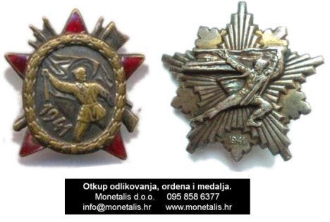 Partizanska spomenica 1941