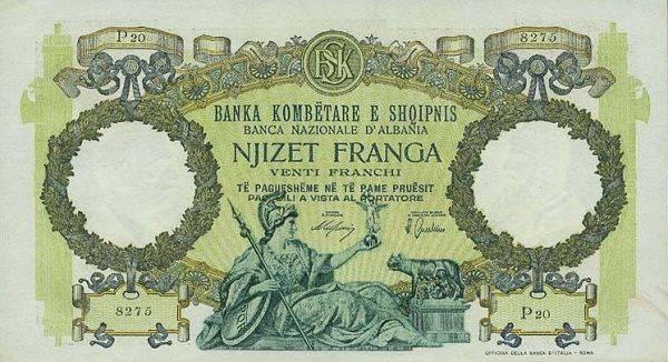 Otkup starih novčanica Albanije