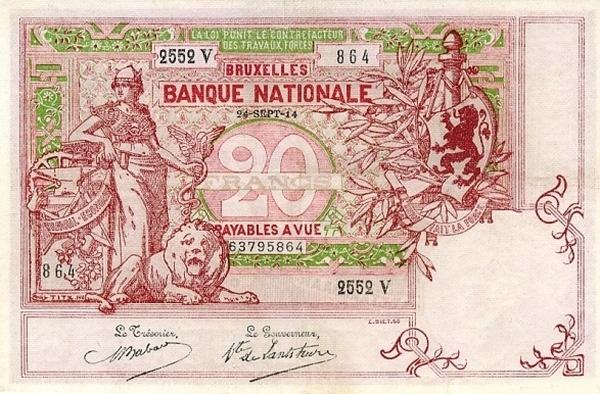 Otkup belgijskih novcanica 095 858 6377 info@monetalis.hr