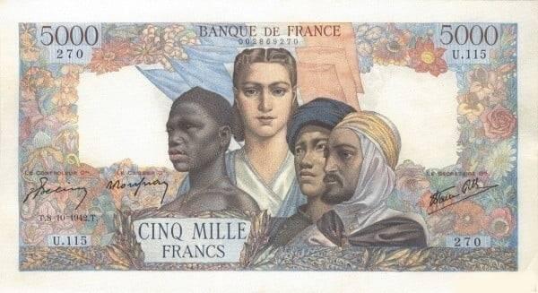 Otkup francuskih novčanica