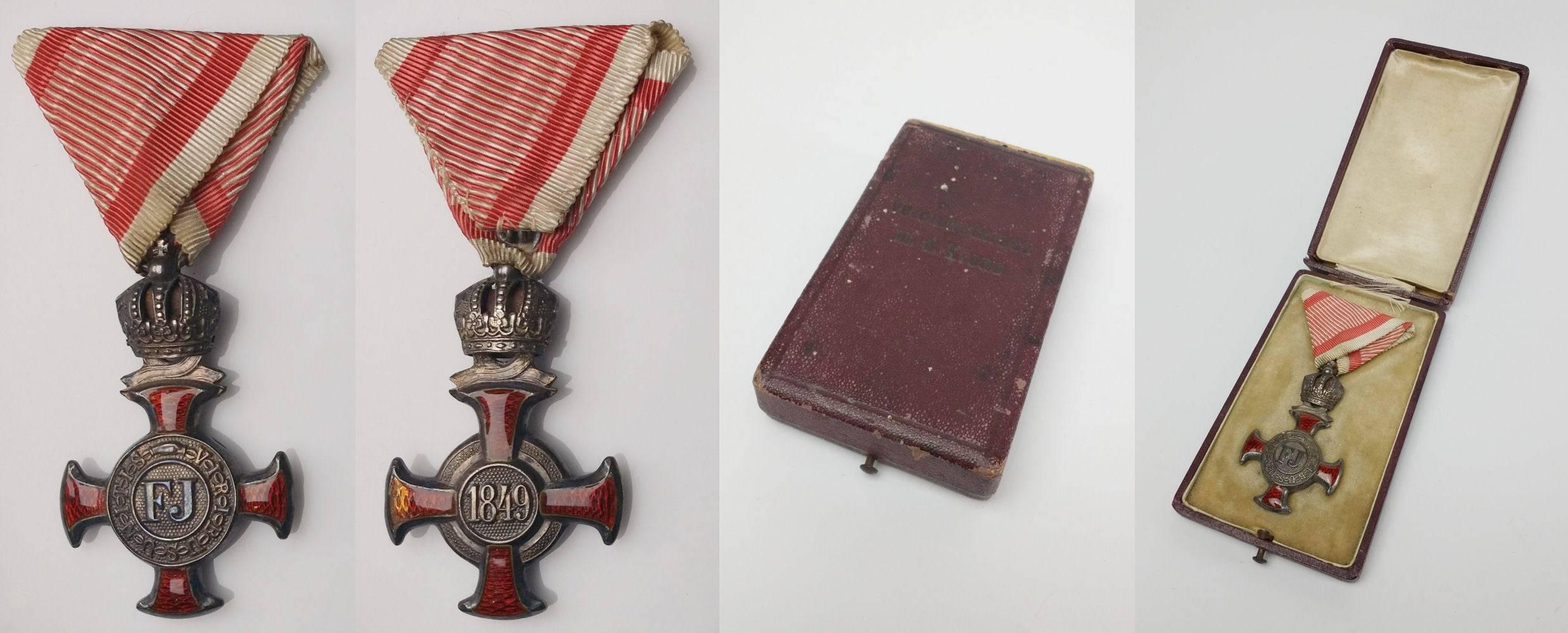 Otkup odlikovanja: Austrijsko odlikovanje Križ za zasluge (Verdienstkreuz)