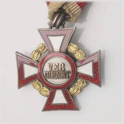 Otkup odlikovanja Austrijsko odlikovanje Vojni križ za zasluge (Militärverdienstkreuz)