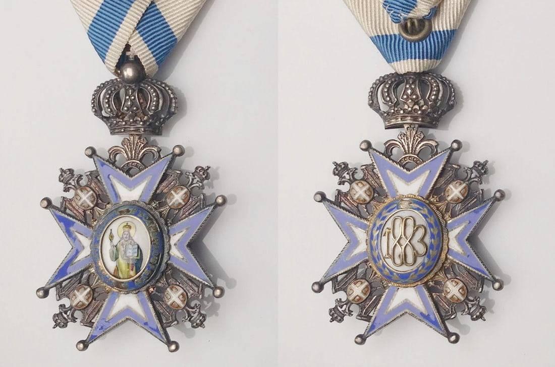 Otkup odlikovanja - Jugoslavensko i srpsko odlikovanje Orden Sv. Save