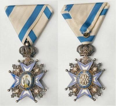 Otkup odlikovanja Jugoslavensko - srpsko odlikovanje Orden Sv. Save