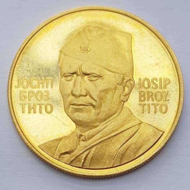 Imam zlatnik Josip Broz Tito. Koliko on vrijedi?
