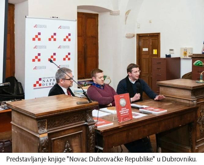 Predstavljanje knjige Novac Dubrovačke Republike u Dubrovniku