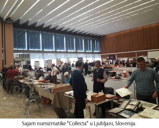 Sajam numizmatike Ljubljana