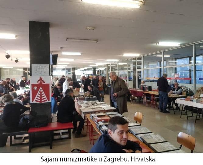 Sajam numizmatike Zagreb