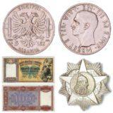Otkup albanskih kovanica, novčanica i odlikovanja