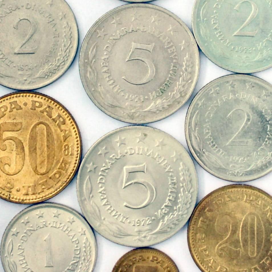 Kovanice jugoslavenskog dinara – što i koliko vrijedi?