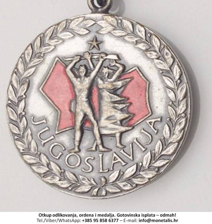 Otkupljujemo odlikovanje Medalja Smrt fašizmu - Sloboda Narodu - 095 858 6377