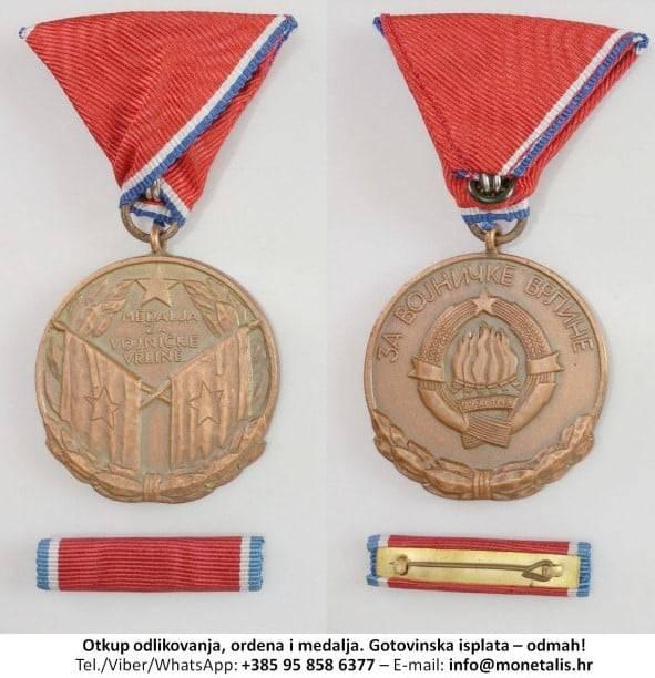 Otkup medalje za vojničke vrline