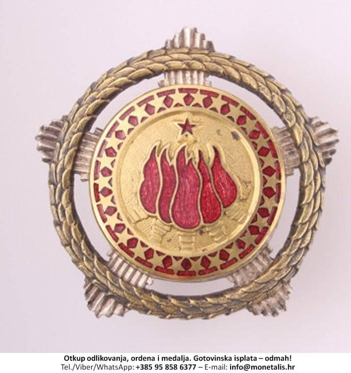 Otkupljujemo odlikovanje Orden bratstva i jedinstva sa zlatnim vijencem (I. red) - 095 858 6377
