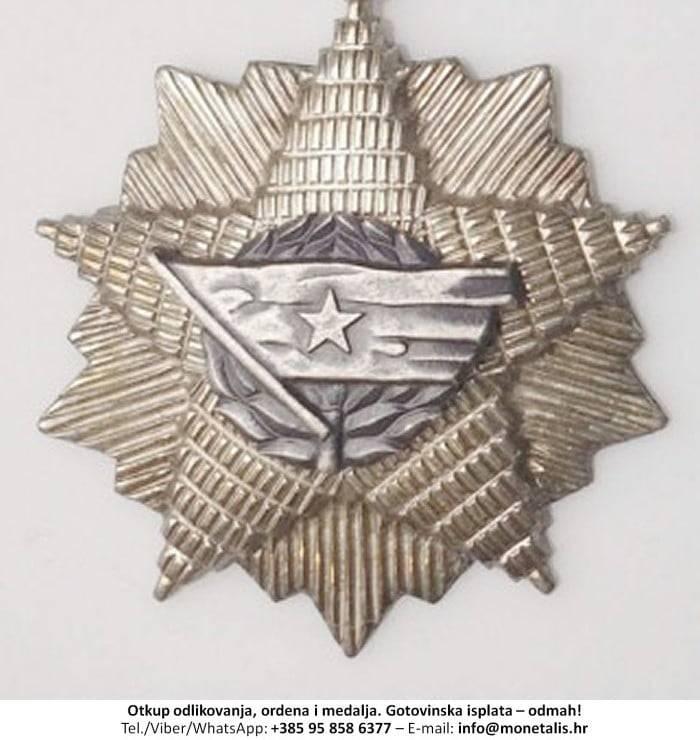 Otkupljujemo odlikovanje Orden jugoslavenske zastave sa srebrnom zvijezdom (V. red) - 095 858 6377