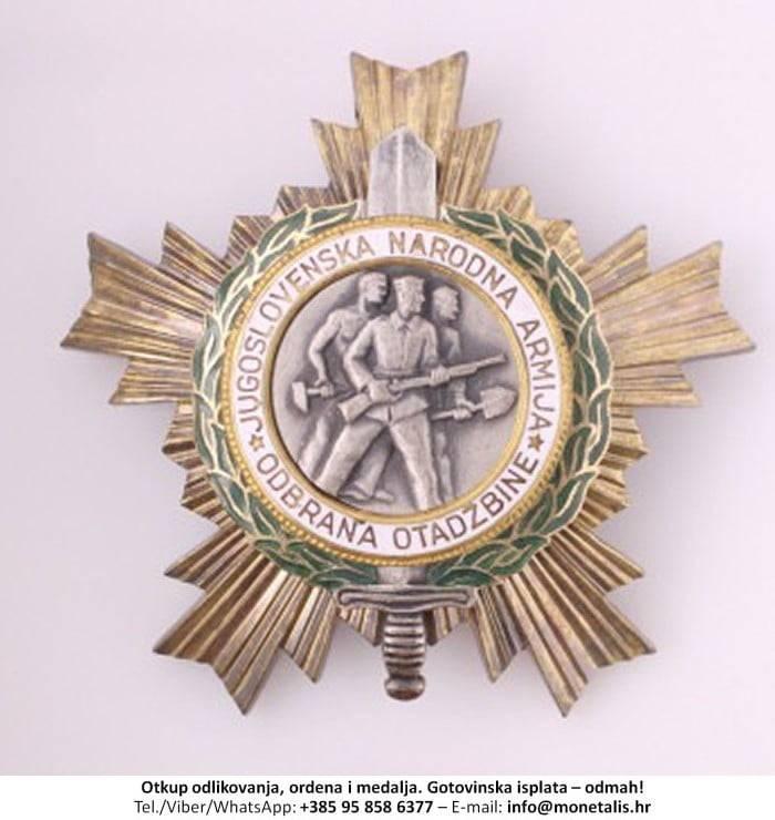 Otkupljujemo odlikovanje Orden narodne armije s lovorovim vijencem (I. red) - 095 858 6377