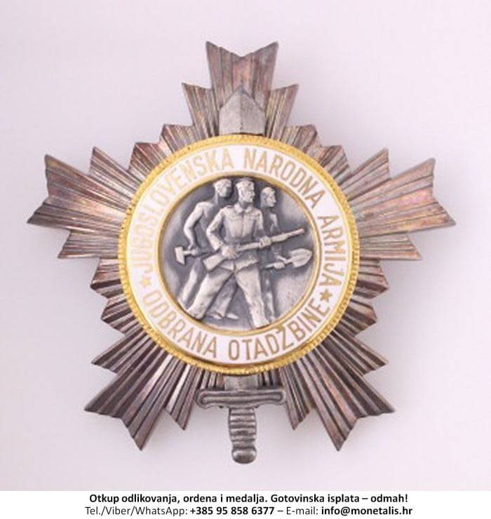 Otkupljujemo odlikovanje Orden narodne armije sa zlatnom zvijezdom (II. red) - 095 858 6377