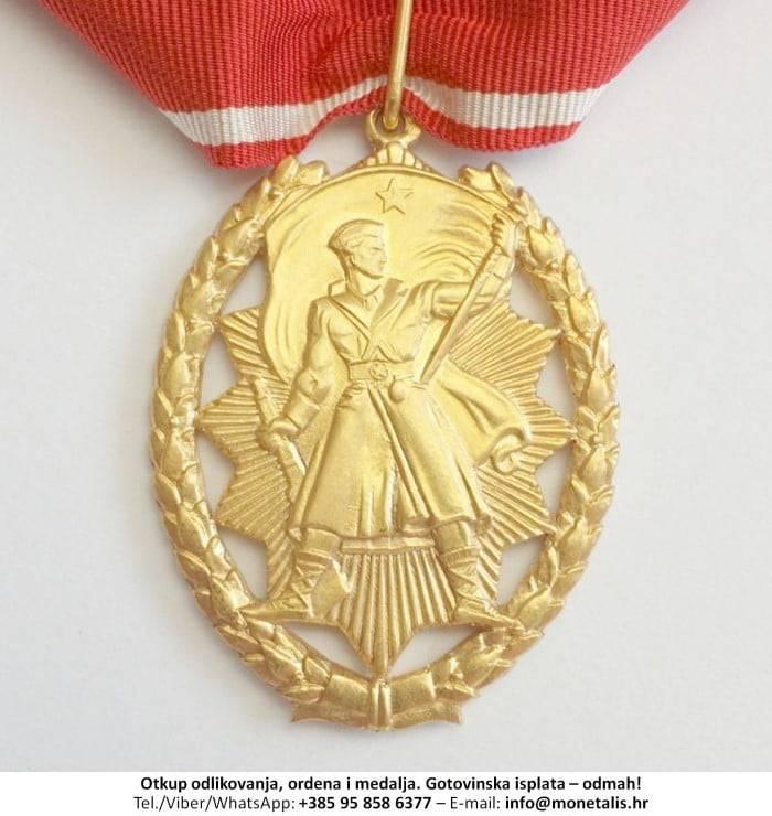 Otkupljujemo odlikovanje Orden narodnog heroja  - 095 858 6377