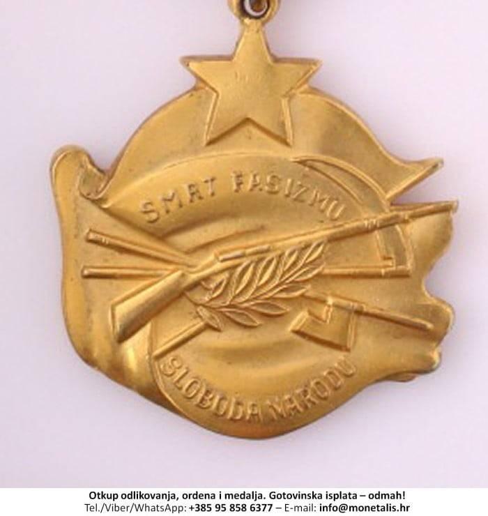 Otkupljujemo odlikovanje Orden za hrabrost  - 095 858 6377