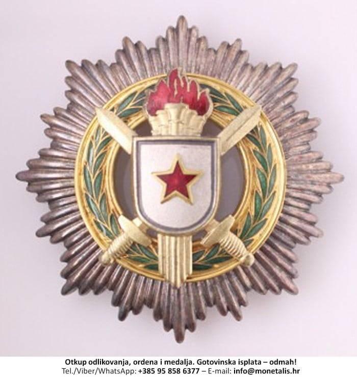 Otkupljujemo odlikovanje Orden za vojne zasluge s velikom zvijezdom (I. red) - 095 858 6377