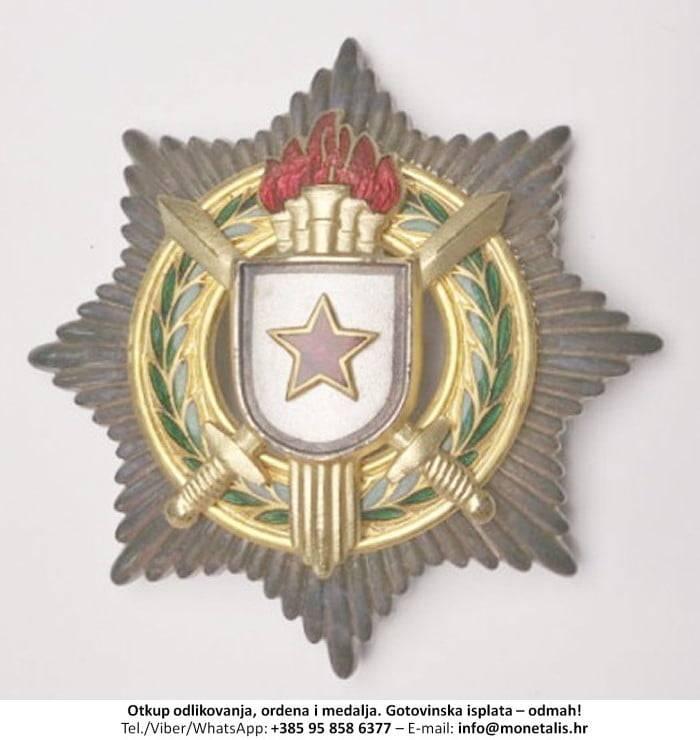 Otkupljujemo odlikovanje Orden za vojne zasluge sa zlatnim mačevima (II. red) - 095 858 6377