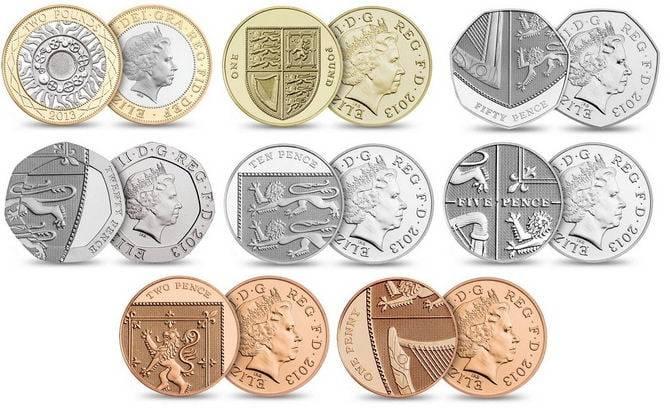 otkup zamjena kovanica britanskih funti
