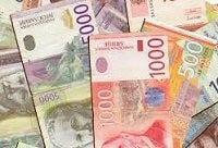zamjena srpskih dinara