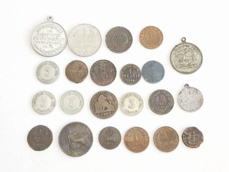 Dobro slikane kovanice za otkup.