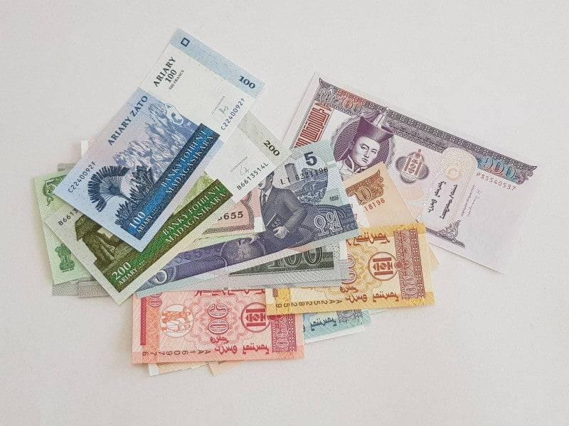Primjer loše slikanih novčanica za otkup.