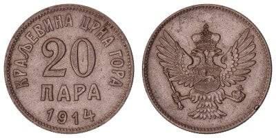 kovanica od 20 para